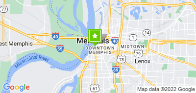 Map of Feed the Homeless Project Memphis