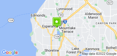 Map of Mountlake Terrace Senior Center