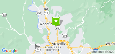 Map of North Asheville, Beverly-Hanks & Associates, REALTORS