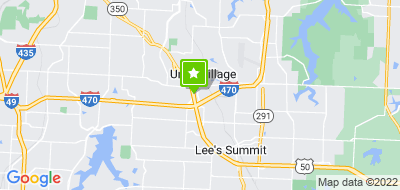 Map of Lee's Summit Physicians Group