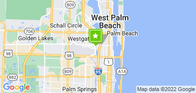 Map of Capital Scrap Metal - West Palm
