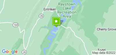 Map of Sea Tow Raystown Lake