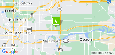 Map of Servpro Of South Elkhart County