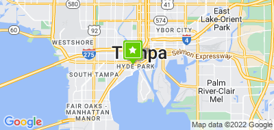 Map of Tampa Roof Cleaning